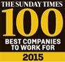 Sunday Times 100 Best Companies to Work For 2015