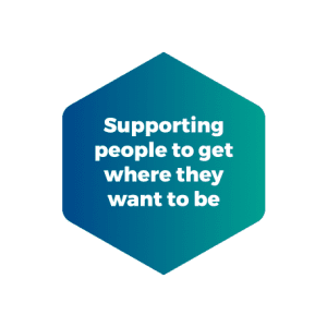 Supporting people to get where they want to be