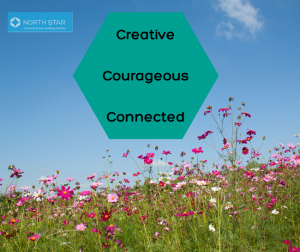 creative courageous connected
